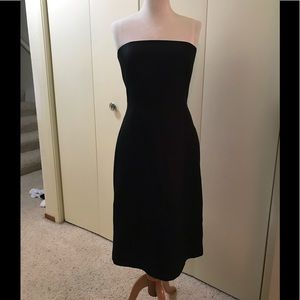 Ann Taylor Strapless Little Black Dress